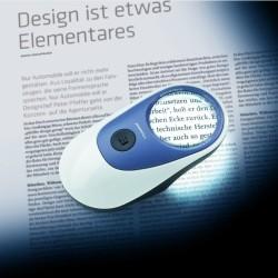 beleuchtete Standlupe Powerlux von Eschenbach Vergrößernde Sehhilfe Optik Plüschke Bischofswerda