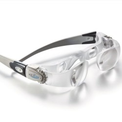 Fernrohrlupenbrille Maxdetail von Eschenbach Vergrößernde Sehhilfe Optik Plüschke Bischofswerda