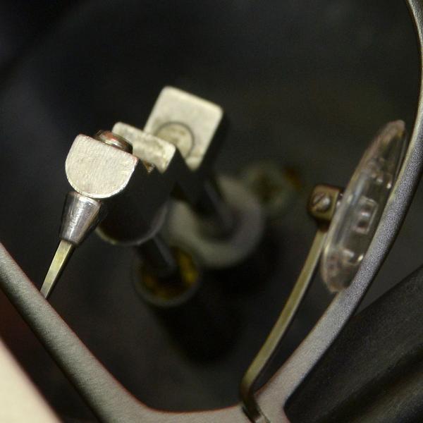 Formtracer eines Brillenglasschleifautomat